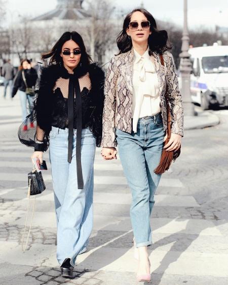 9fa9361bd أفكار ارتداء بنطلون الجينز والبلوزة بالصور - Savoir Flair