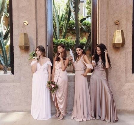bc570de28 تسوق فساتين سهرة ناعمة لحضور حفل زفاف صديقتك مهما كان نوعه - Savoir ...