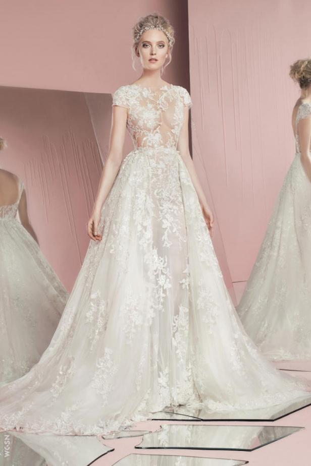 2c228de8326fc أفكار جديدة لذيل فستان عروس 2016 - Savoir Flair Al Arabiya