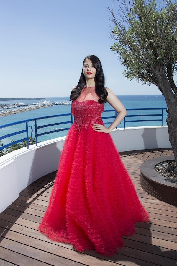 Aishwarya Rai Bachchan red dress cannes 2016 Getty