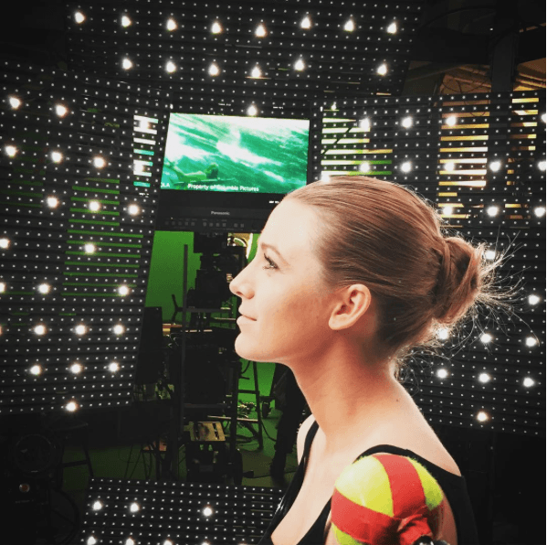 Blake Lively Chic Bun Hair