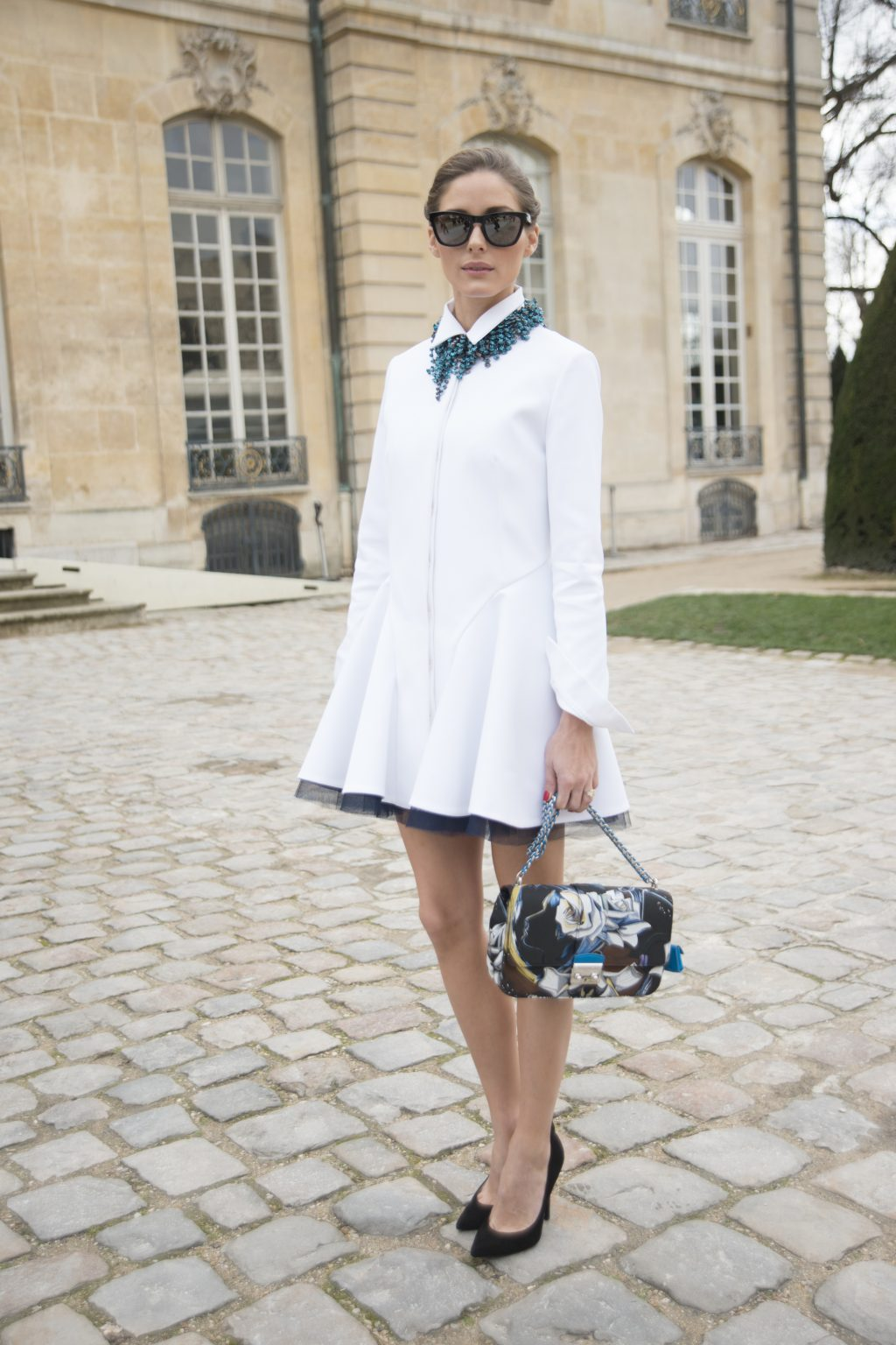 Olivia Palermo Paris 2014 in Paris, France. (Photo by Kirstin Sinclair/Getty Images)