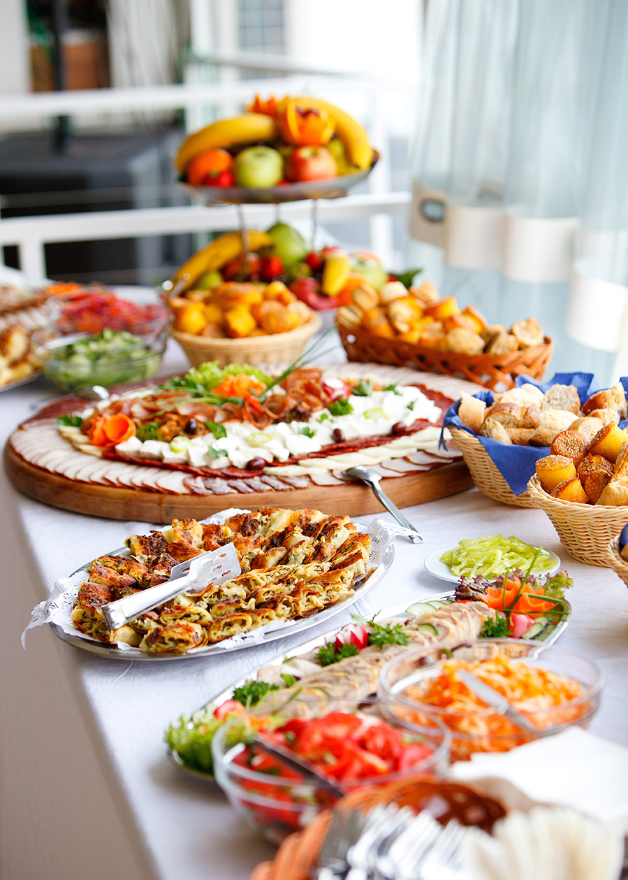buffet-food-table shutterstock