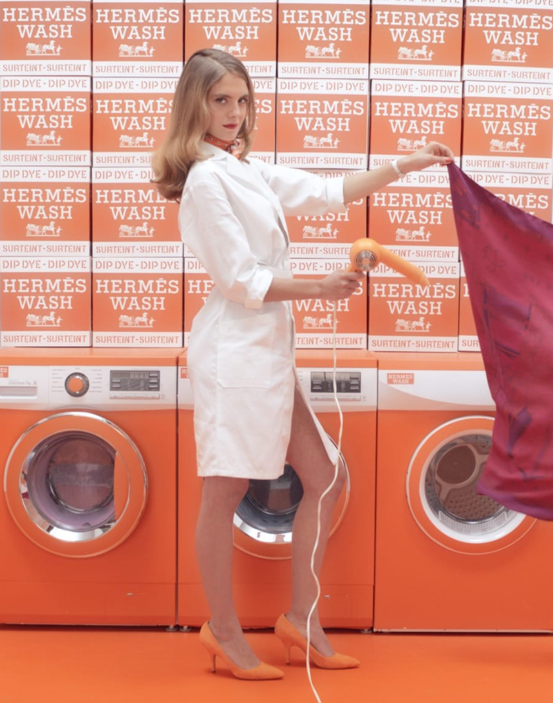 Hermesmatic Pop Up laundry theme