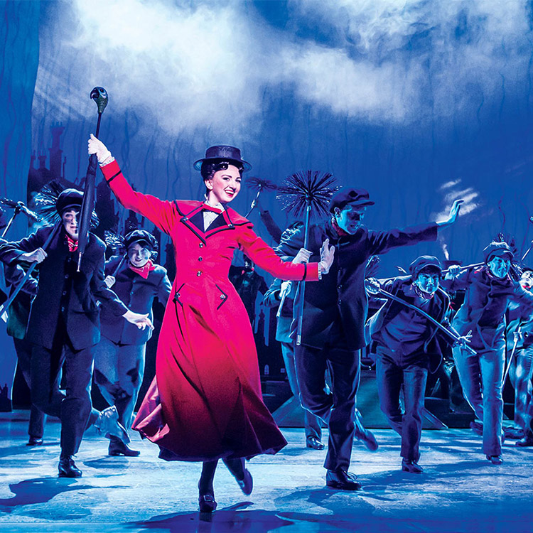 mary poppins on stage musical birmingham hippodrome
