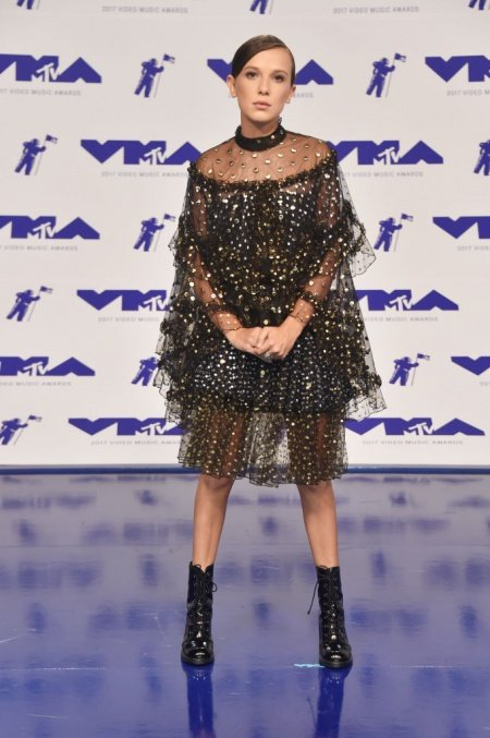 Millie-Bobbi-Brown-Rodarte-VMAs-2017