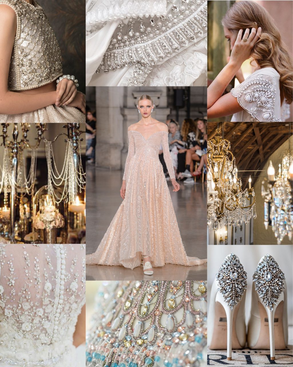Wedding Trends All Over Beading