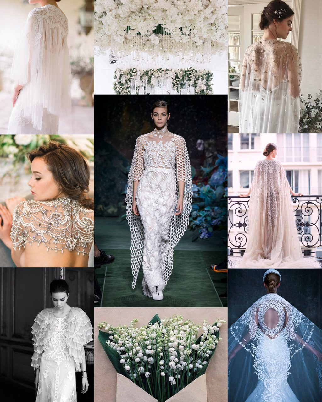 Wedding Trends Capes Capelets