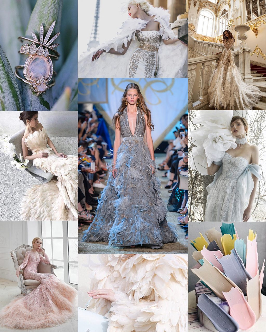 Wedding Trends Feathers