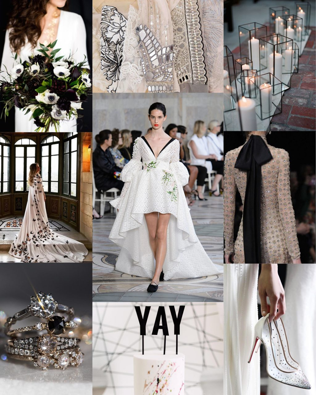Wedding Trends Hints of Black