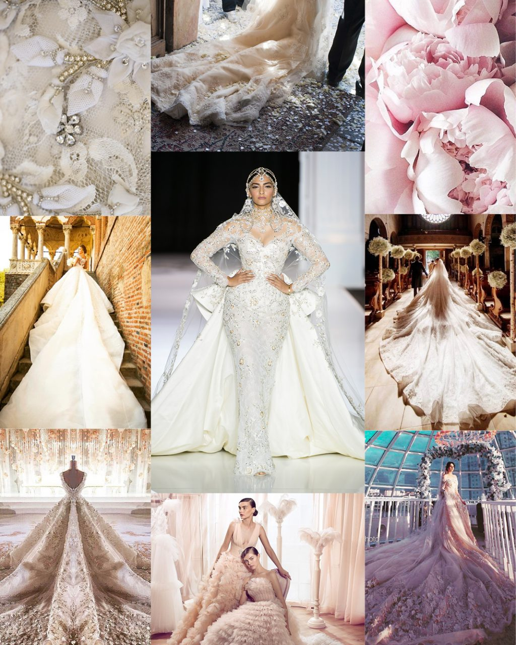 Wedding Trends Mega Trains