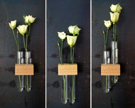 flowers-arranged-in-test-tubes