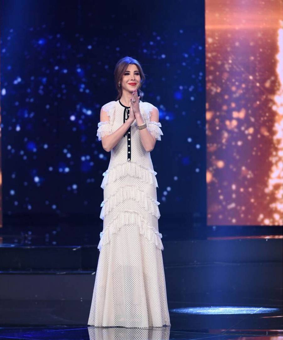nancyajram Nancy Ajram wearing white