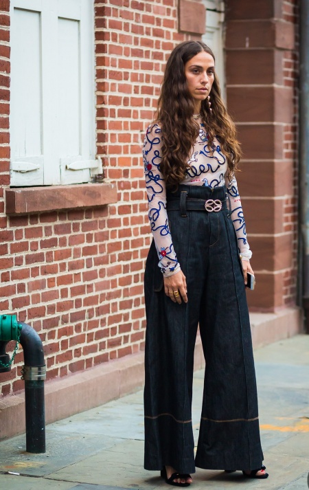 Style-Du-Monde-Street-Style-Denim-For-Party