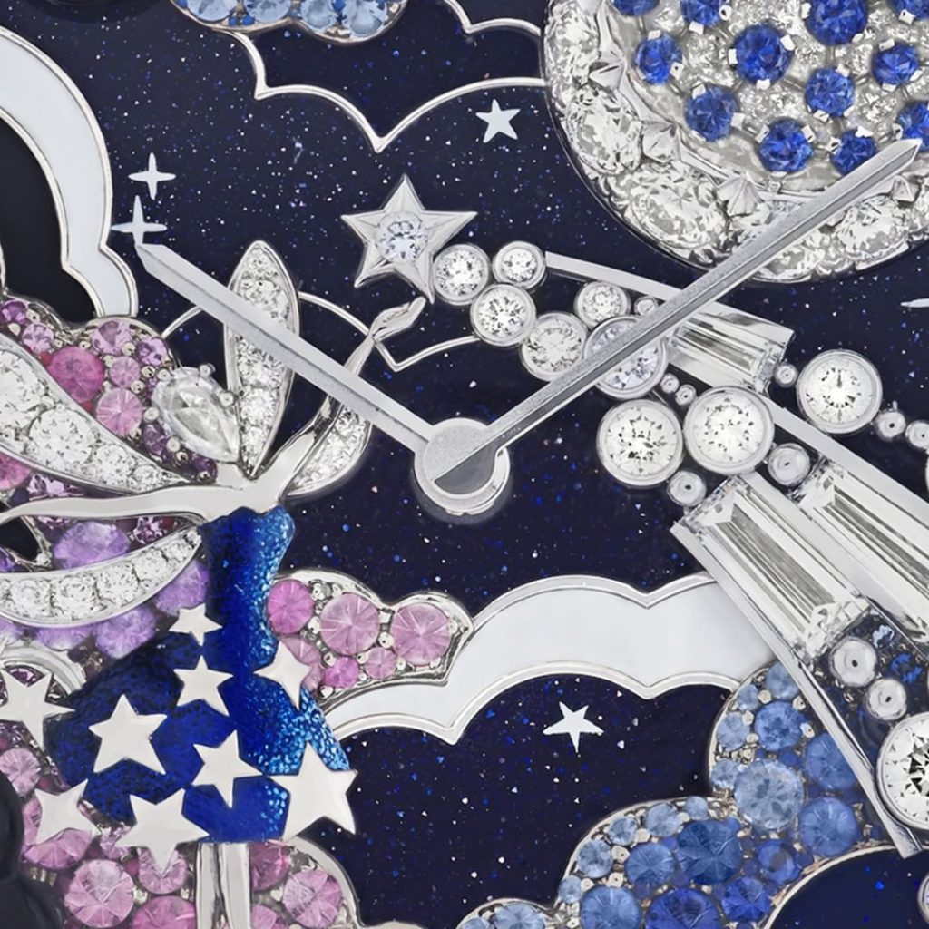 Van Cleef Arpels zodiac watch close up