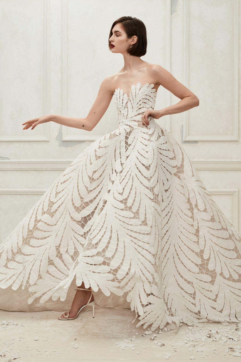 0a59a05b5f18b فساتين زفاف - أجمل فساتين الزفاف من مصممين عرب وعالميين – Styly