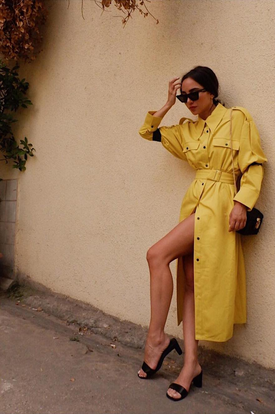 trench Dana Hourani